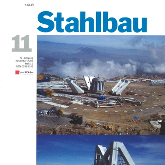 Rate-dependency of structural mild steel – Part 1 - Stahlbau 72, No. 11, 2003, 2003
