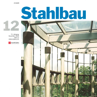 Rate-dependency of structural mild steel – Part 2 - Stahlbau 72, No. 12, 2003, 2003