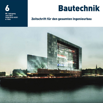Development of the Ericusspitze in Hamburg, Part 1: Substructure - Bautechnik 88, No. 6, 2011, 2011