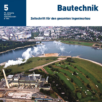New building, HafenCity University Hamburg – Symbol for architecture on the waterfront – Part 1: Substructure - Bautechnik 90, No. 5, 2013, 2013