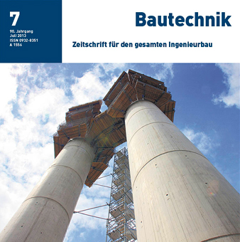 New building, HafenCity University Hamburg – Symbol for architecture on the waterfront – Part 2: Building construction - Bautechnik 90, No. 7, 2013, 2013
