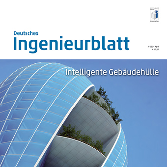 Use of innovative materials in the European building construction industry - Integral free-form structures in fibre composite materials - Deutsches Ingenieurblatt 4, 2014, 2014