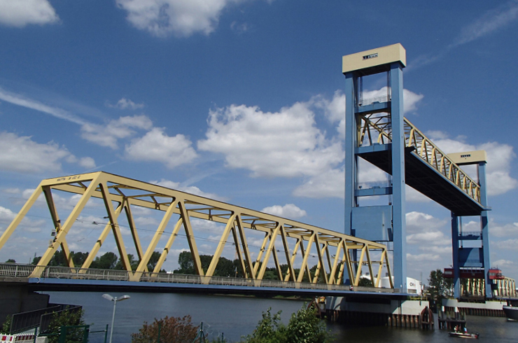 review: - Kattwyk Lifting Bridge Hamburg